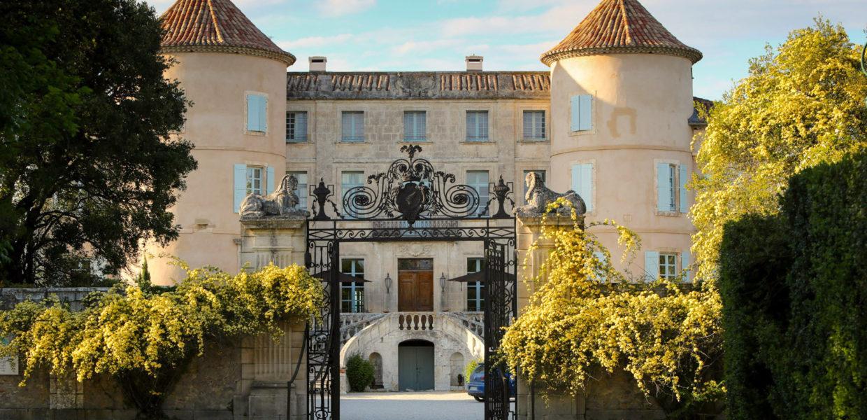 rosiers banks au château de Potelières