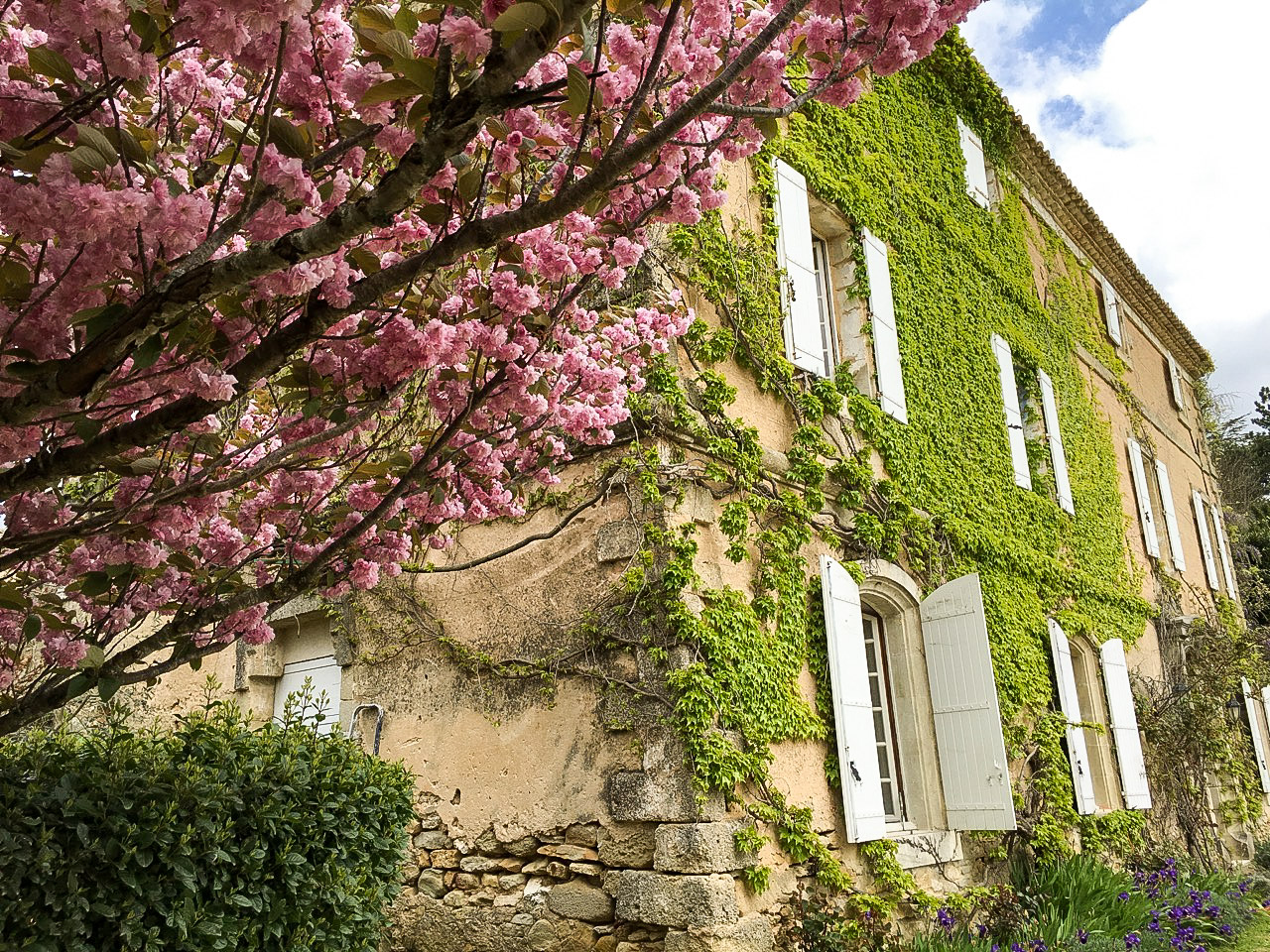 Uzès region, elegant 19th country house, 335m2 living space on half an acre of gardens